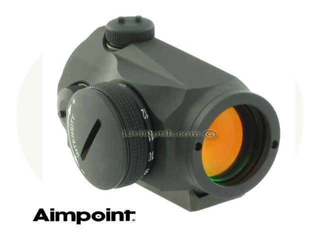 Aimpoint Micro T-1 Picatinny Mount  -2 MOA  -NVD Compatible