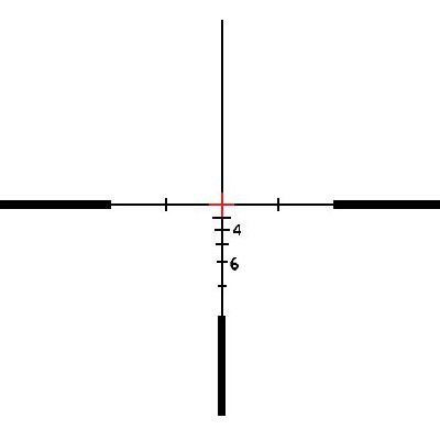Crosshair Reticles | Red