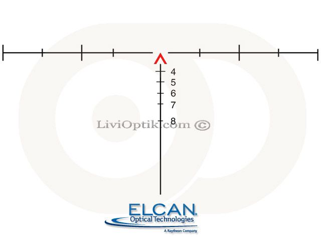Elcan SpecterOS 4x  | 5.56 NATO | Chevron Reticle
