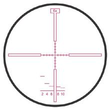 Hensoldt Second Focal Plane Reticle