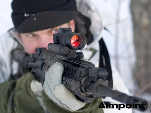 Aimpoint CompM4s Complete -2MOA -NVD compatible