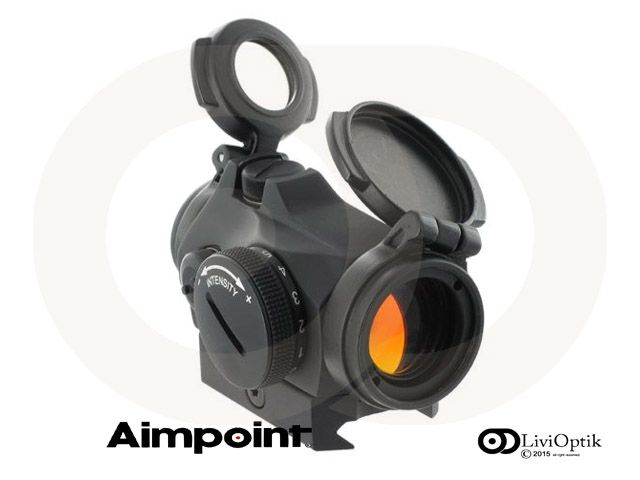Aimpoint Micro T-2 Picatinny Mount  -2 MOA -NVD Compatible
