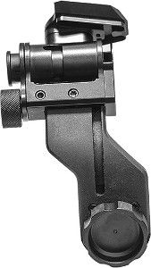 PVS-14 J-arm Adapter with NVG Interface Shoe | Dovetail